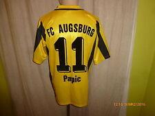 "FC Augsburg erima Ausweich Matchworn Trikot 03/04 ""Deuter"" + Nr.11Papic Gr.M- L"