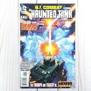 G.I. Combat #7, Feat. The Haunted Tank, DC Comics 2012, The New 52!, Justin Gray