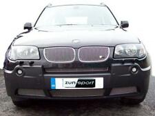 ZUNSPORT STAINLESS STEEL FRONT GRILLE SET to fit BMW X3 04-06
