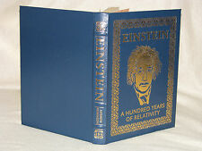 Easton Press Einstein - A Hundred Years of Relativity by Andrew Robinson Leather