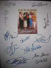 Steel Magnolias Signed Movie Script X12 Dolly Parton Sally Field Hannah reprint