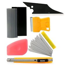 6 in 1 Automotive Window Film Wrap Tint Application Vehicle Car Tools Kit Set