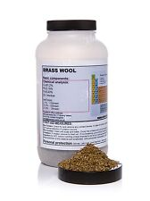 500g Brass metal wool•cuts - great quality!