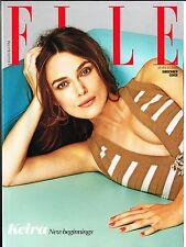 ELLE UK 3/2015 Ltd Ed KEIRA KNIGHTLEY Colin Firth ALEXANDRA TOMLINSON Lorde @NEW