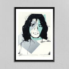 Andy Warhol Mick Jagger #2 Giclee Print Large Wall Art The Rolling Stones Poster