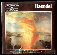 SEALED Haendel Water music Minnesota Skrowaczewski Hachette