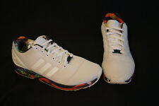 Adidas Torsion ZX Flex Mens size 13 running shoes white/black/red/blue/green