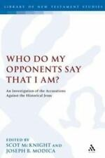Who Do My Opponents Say That I Am?: An Investigation Of The Accusations Again...