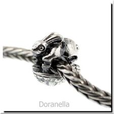 Authentic Trollbeads Sterling Silver 11255 The Hare and the Tortoise :1