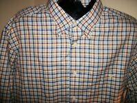 Men's Orvis Wrinkle Free Long Sleeve Button Down Shirt Size XL