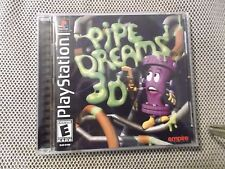 Pipe Dreams 3D (Sony PlayStation 1, 2001)  COMPLETE