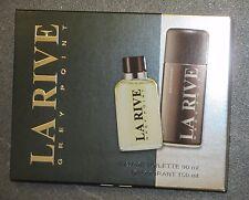 La Rive - Grey Point - NEU/Mann/MEN/EDT/Eau De Toilette + DEODORANT/SET/90 ml