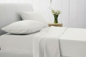 Premium Quality 300 Thread Count Extra Deep Fitted Sheets Single Double King