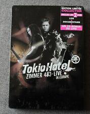 Tokio Hotel, zimmer 483 - Live Europe, 2DVD + CD bonus live - steelbook