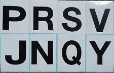Cowboy Dressage Arena Marker stickers x 8 PRSV JNQY 150 x 200mm Extension Set