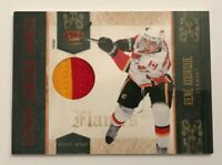 Rene Bourque /50 made Crown Lancers Jersey Insert Parallel Hockey Card 24