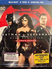 Batman v Superman: Dawn of Justice (Blu-ray Disc, 2016, 3-Disc Set)