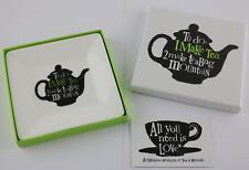 The Bright Side - Teabag Tray Make Tea Make Teabag Mountain New Design for 2016