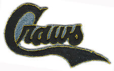 "PITTSBURGH CRAWFORDS NEGRO LEAGUE BASEBALL 4.5"" TEAM LOGO PATCH"