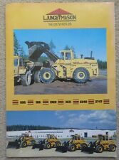 Ljungby Maskin Wheel Loader Sales Leaflet