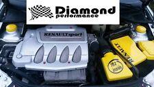CLIO 172,182,16 V Mk2 Moteur Bay Housse Vanity Set, boîte à air, boîte à fusibles, batterie, strut