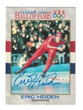 Eric Heiden Signed Autographed 1991 Impel Card US Olympics Speed Skater