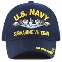 Official Licensed Military US NAVY Submarine Cap