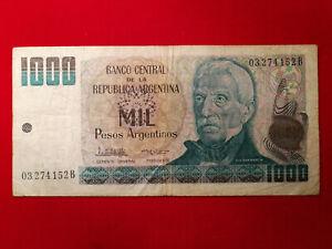 Argentine - Argentina 1000 Mil Pesos 1983 Pick317a TB / F !