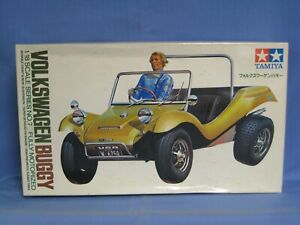 RARE Tamiya Volkswagen Buggy Fully Motorized 1/18 Scale Kit, Sealed Parts Bags