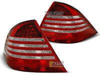 Pilotos traseros para Mercedes S-CLASE W220 1998-2005 Rojo Blanco ES LTME16-ED X