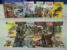 Brothers of the Spear 1-18 COMPLETE SET Nice! 1972-1976 Gold Key Comics (s 10749