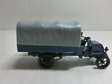 1:87 Märklin Oldtimer Büssing Pritschenwagen blau mit Plane (33Sch3/1)