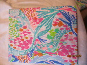 Pottery Barn LILLY PULITZER Mermaid Cove FITTED  FULL SHEET  NWOP SO COOL