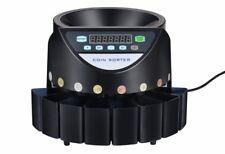 Geldzählmaschine Münzzähler Münzzählmaschine Münzsortierer Abhülsung EURO Arebos
