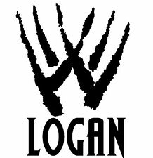 Marvel Wolverine Logan VINILO COCHE DECAL STICKER 18cm X 14cm