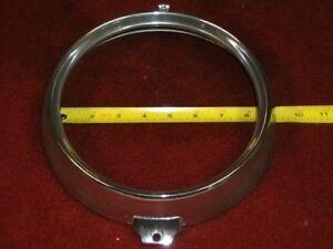 Early Jaguar Headlight Trim Ring