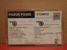 Poizon Posse - Stompin' PROMO Cassette Rare RAP