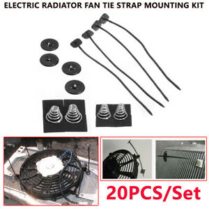 Truck RV Car Modification Fan Parts Eelectric Cooling Radiator Fan Accessories