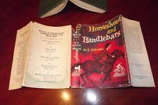 horse stories M E ATKINSON Horseshoes and Handlebars SHEILA ROSE ~1958DJ