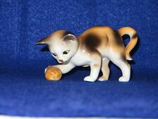 """Nuts In May"" Danbury Mint Cats Of Character Bone China Figurine - Mint"