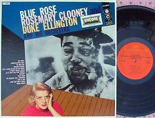 Rosemary Clooney Duke Ellington US Reissue LP Blue rose NM Jazz Vocal Pop