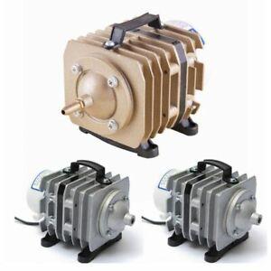 Air Compressor Pump Electromagnetic Fish Tank Pond Aerator Oxygen Aquarium Kits