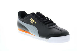 Puma Roma Basic + 36957126 Mens Black Synthetic Lifestyle Sneakers Shoes