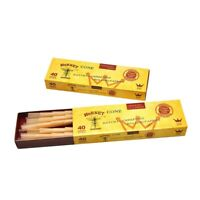 Pre Rolled Cones Shaped Pack of 40 Unrefined Rolling Paper Hemp Smoking Pipe