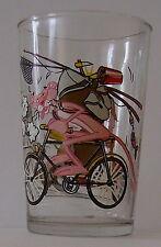 Verre à moutarde LA PANTHERE ROSE - PINK PANTHER. En vélo. VM500