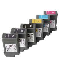 6 Compatible Canon ipf 500 510 600 605 700 710 720 PFI-102 INK cartridges