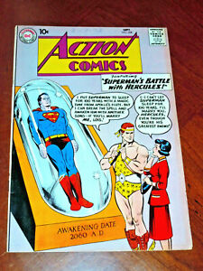 ACTION COMICS #268 (1960)  VG-F (5.0) cond.  SUPERMAN, SUPERGIRL