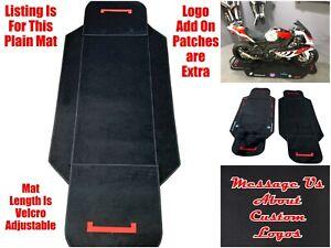 Motorcycle Racing Garage Track Workshop Showroom Display Bike Floor Mat Pad
