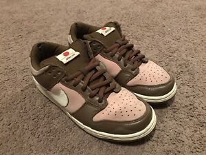 USED Nike Dunk Low Pro SB Stussy Size 9.5 100% Authentic