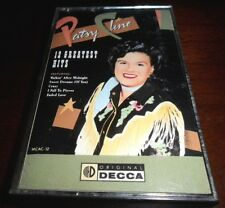 Patsy Cline 12 Greatest Hits (Cassette, 1988 MCA Records)